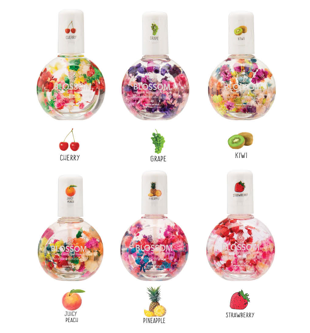 Blossom Beauty 1 oz. Cuticle Display Fruit