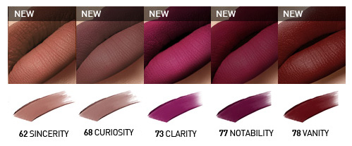 Pure Lust Extreme Matte Tint Mousse Shades