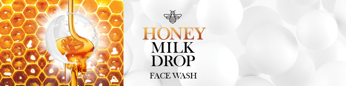 Double Dare Honey Milk Drop Face Wash