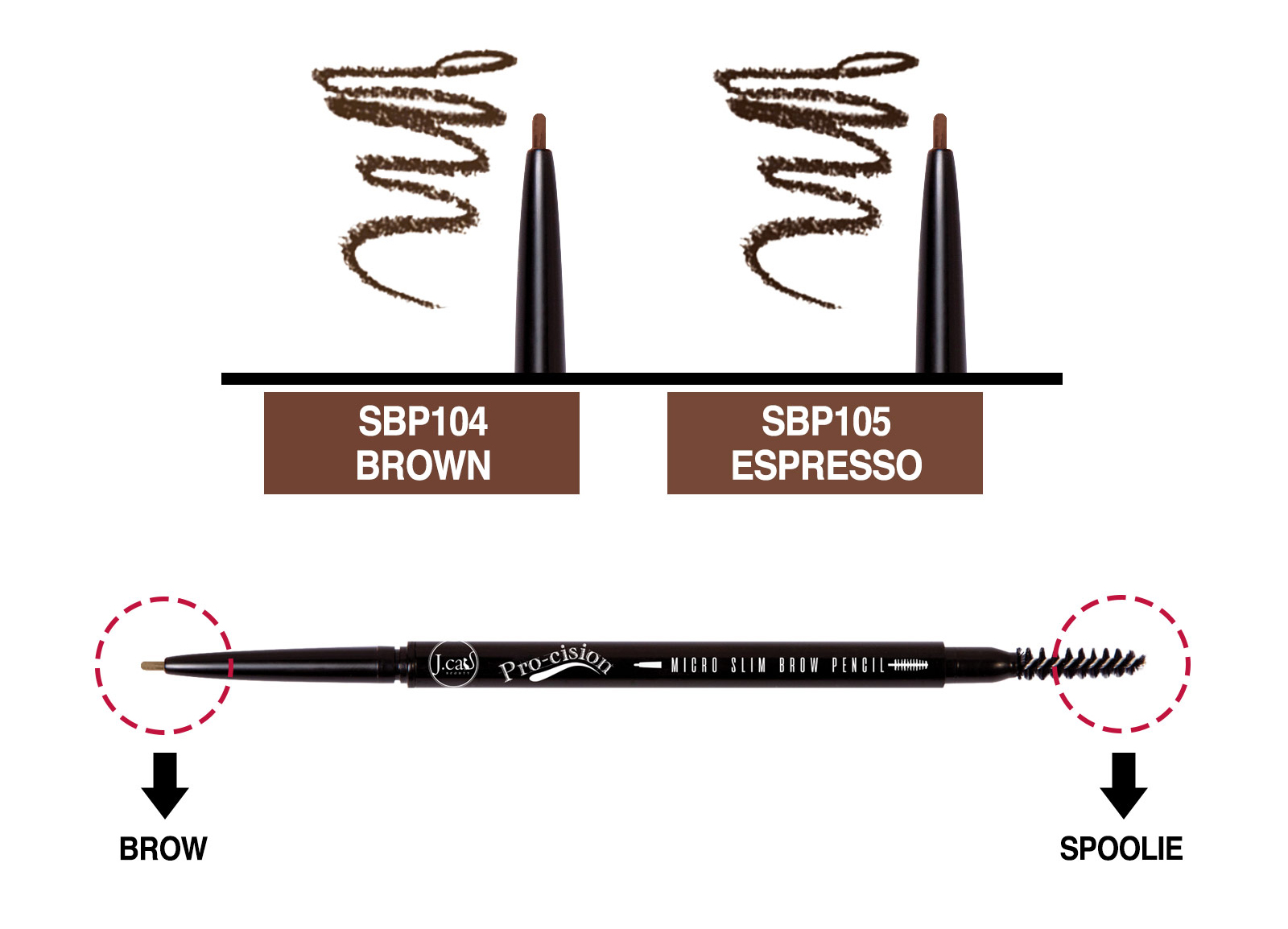 Jcat Beauty Procision Pencil Product Details