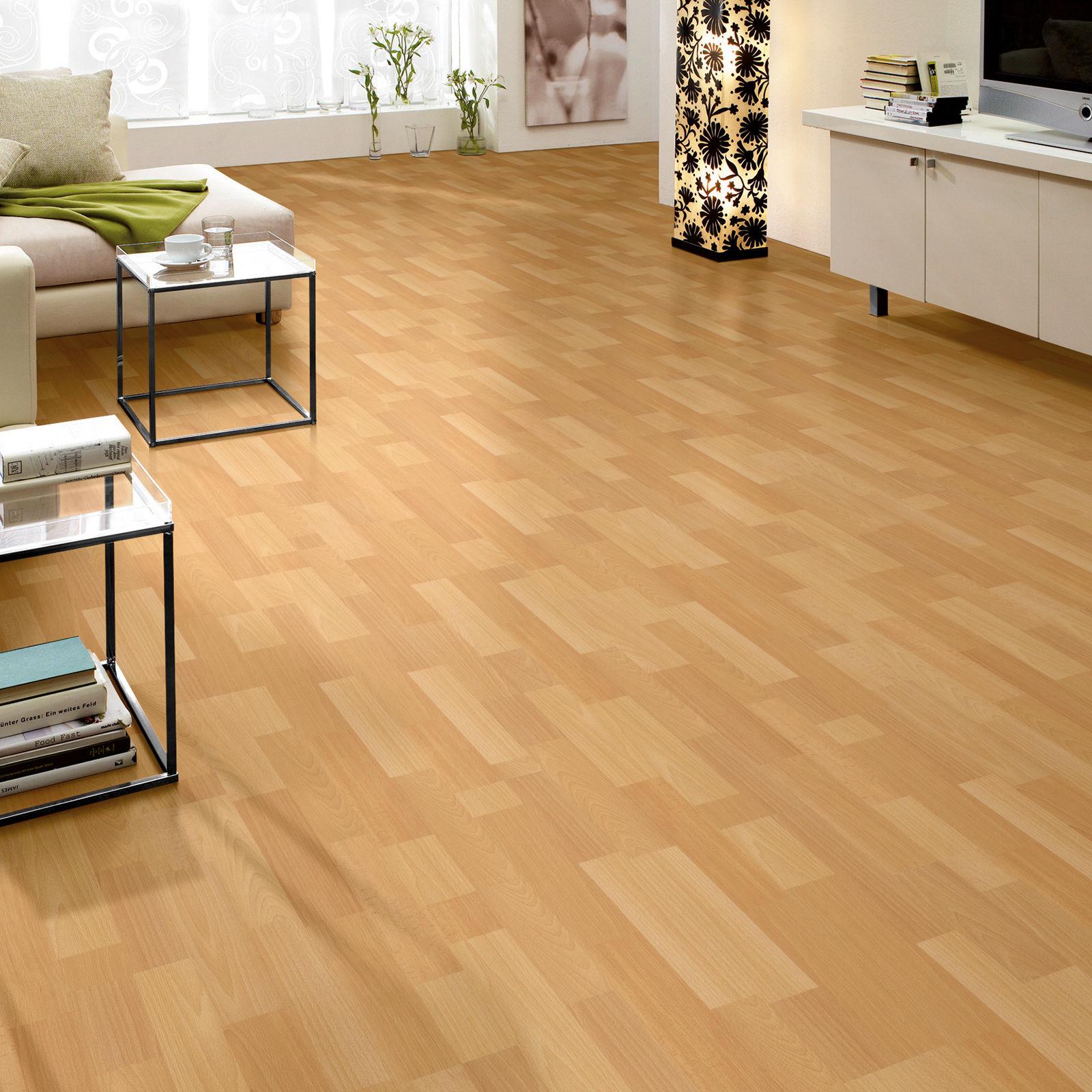 hori klebe vinylboden laminat dielenboden eiche buche. Black Bedroom Furniture Sets. Home Design Ideas