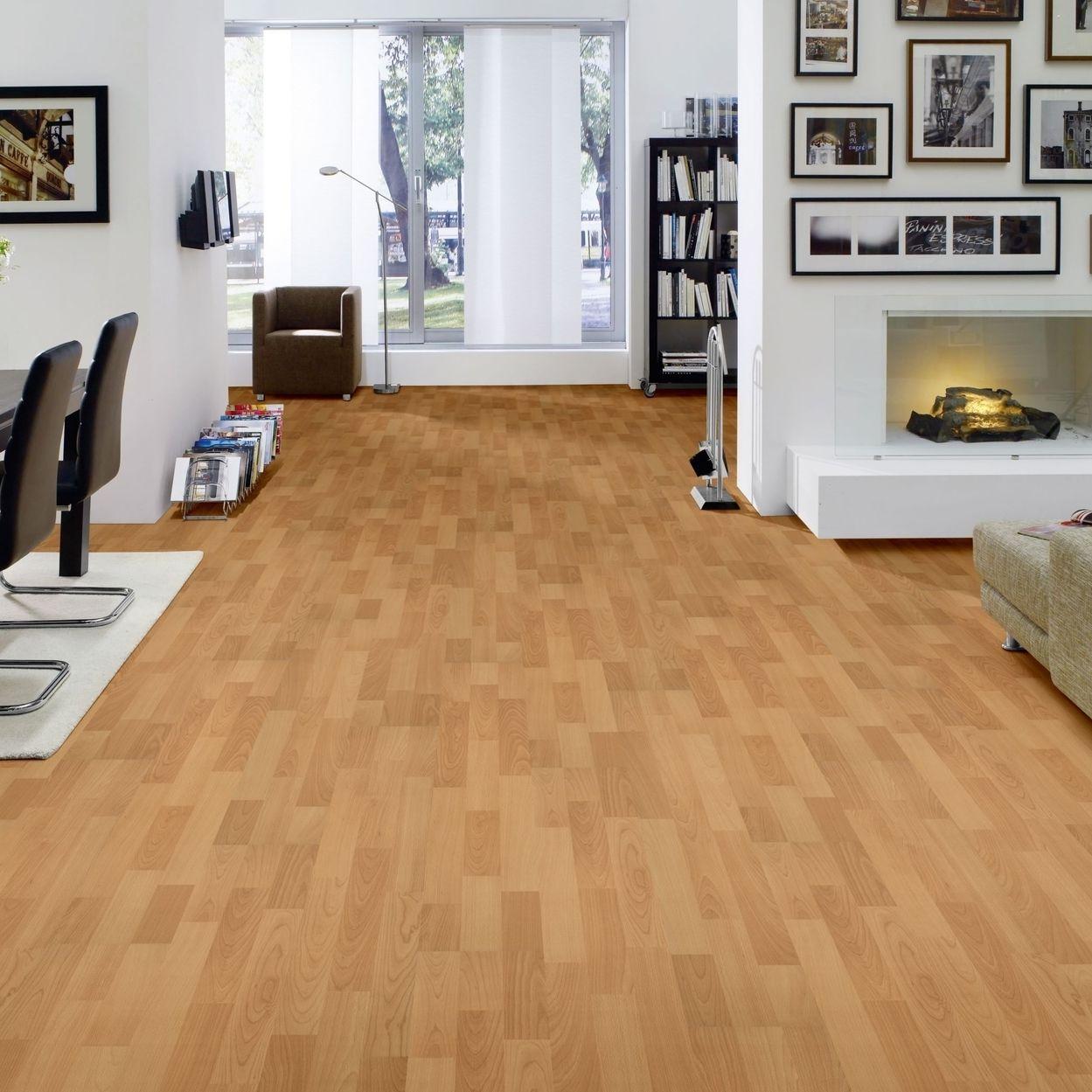 hori klick laminat selection buche trend schiffsboden optional d mmung leisten ebay. Black Bedroom Furniture Sets. Home Design Ideas