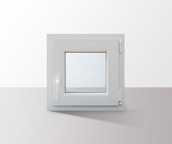 Fenster-Kunststofffenster-Kellerfenster-Dreh-Kipp-Fenster-2-fach-Verglast-weiss Indexbild 32