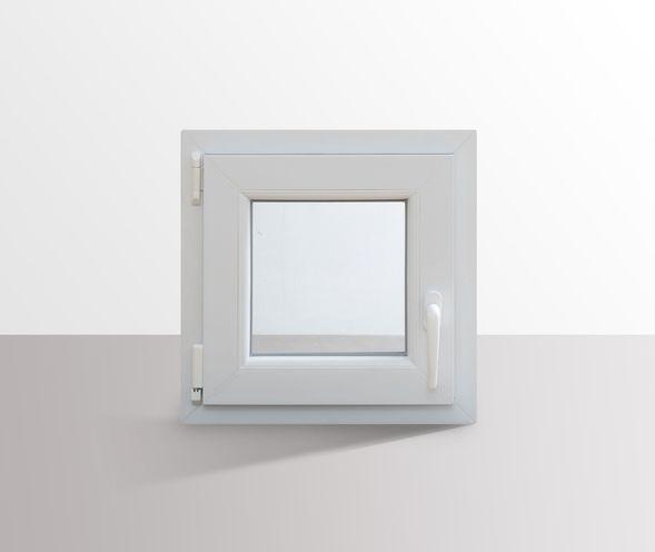 Fenster-Kunststofffenster-Kellerfenster-Dreh-Kipp-Fenster-2-fach-Verglast-weiss Indexbild 29