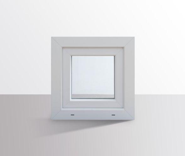 Fenster-Kunststofffenster-Kellerfenster-Dreh-Kipp-Fenster-2-fach-Verglast-weiss Indexbild 33