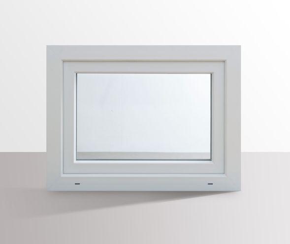 Fenster-Kunststofffenster-Kellerfenster-Dreh-Kipp-Fenster-2-fach-Verglast-weiss Indexbild 65