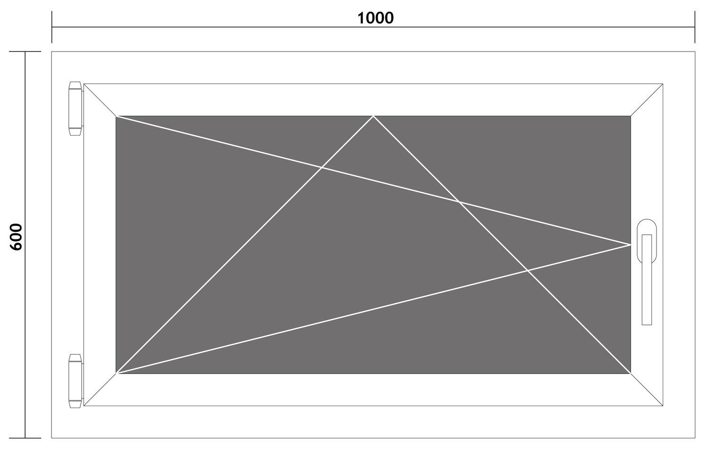 Fenster-Kunststofffenster-Kellerfenster-Dreh-Kipp-Fenster-2-fach-Verglast-weiss Indexbild 58