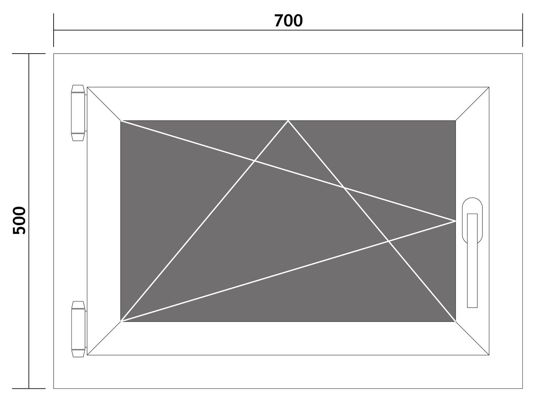 Fenster-Kunststofffenster-Kellerfenster-Dreh-Kipp-Fenster-2-fach-Verglast-weiss Indexbild 43