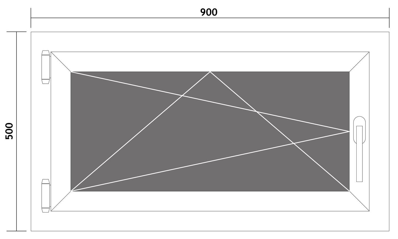 Fenster-Kunststofffenster-Kellerfenster-Dreh-Kipp-Fenster-2-fach-Verglast-weiss Indexbild 53