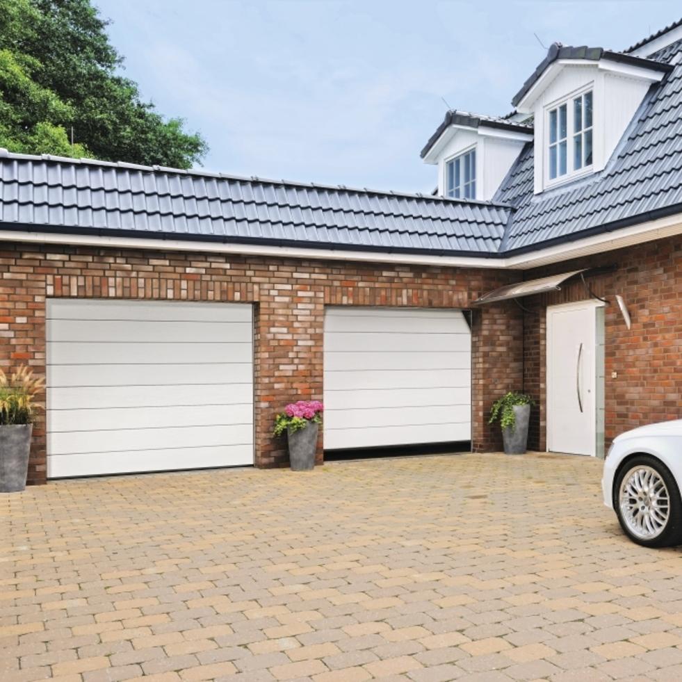 garagentor sektionaltor garagentore rolltor tor mit antrieb zarge h rmann hori ebay. Black Bedroom Furniture Sets. Home Design Ideas