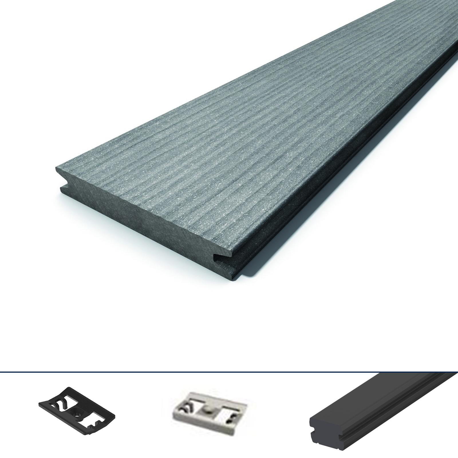WPC-Terrassendiele-Megawood-massiv-grau-Komplettset-Komplettbausatz-5-78-m