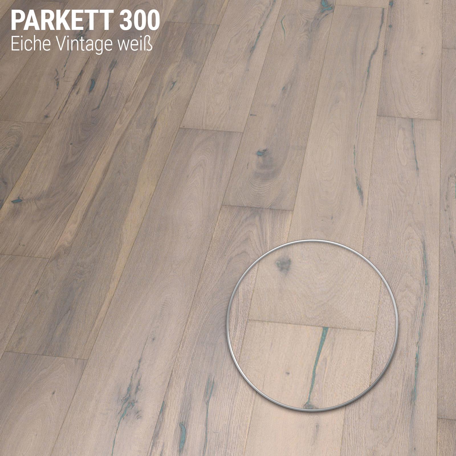 Indexbild 7 - Parkettboden Dielen Bodenbelag  Eiche Landhausdiele 1 Stab mit Fase Holz