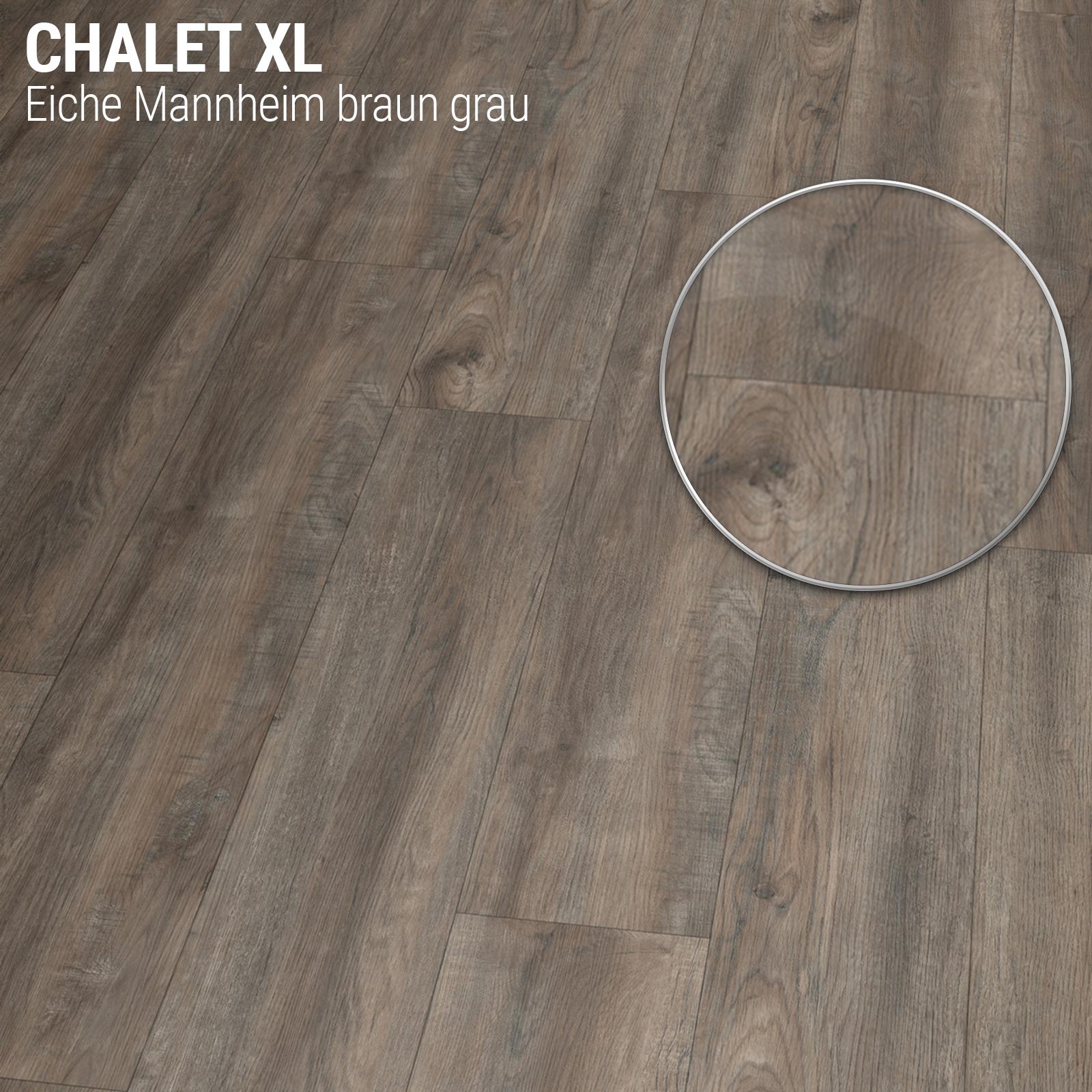 vinylboden pvc klick dielen bodenbelag royal chalet eiche