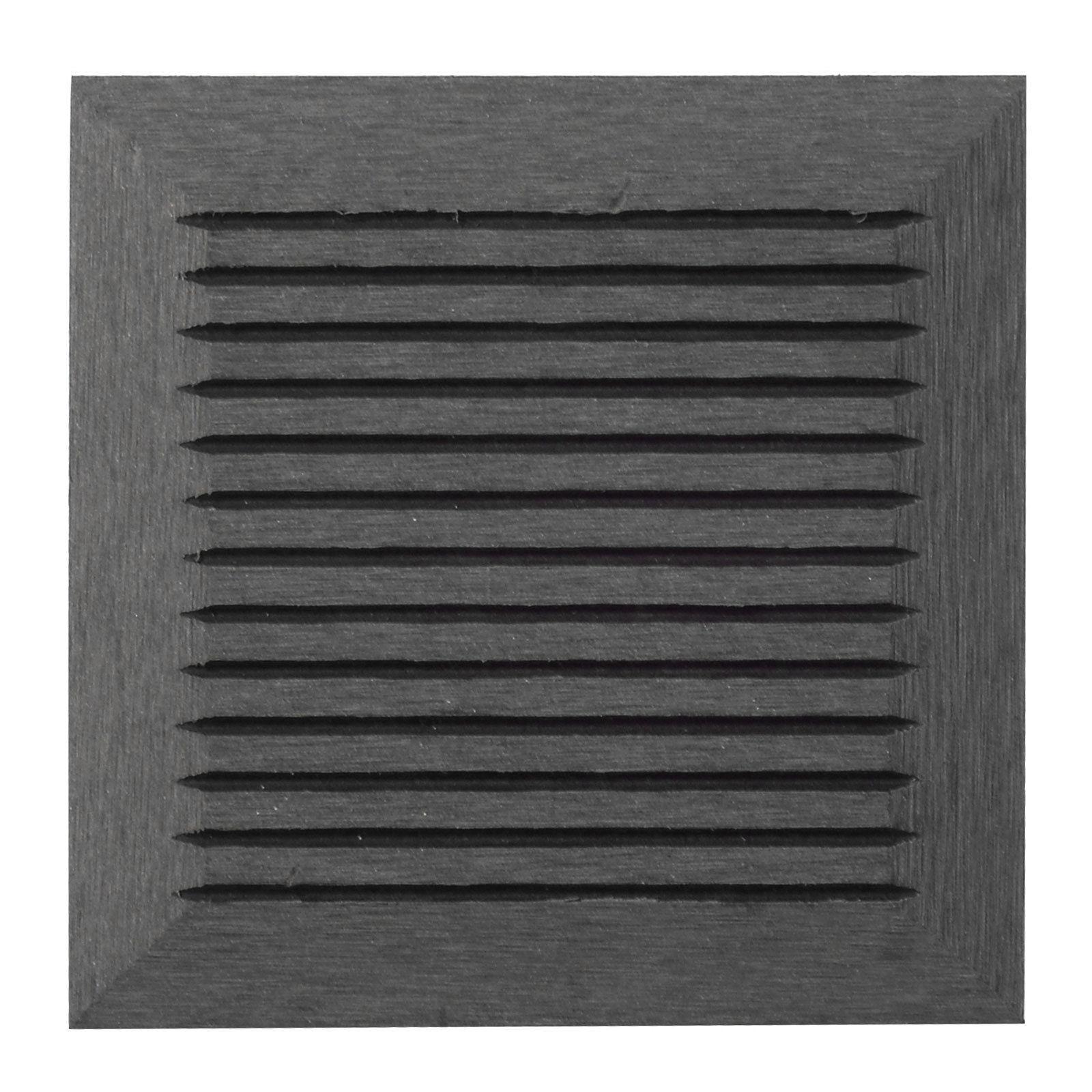 wpc zaun sichtschutzzaun gartenzaun windschutz terrasse grau anthrazit 180 x 180 ebay. Black Bedroom Furniture Sets. Home Design Ideas