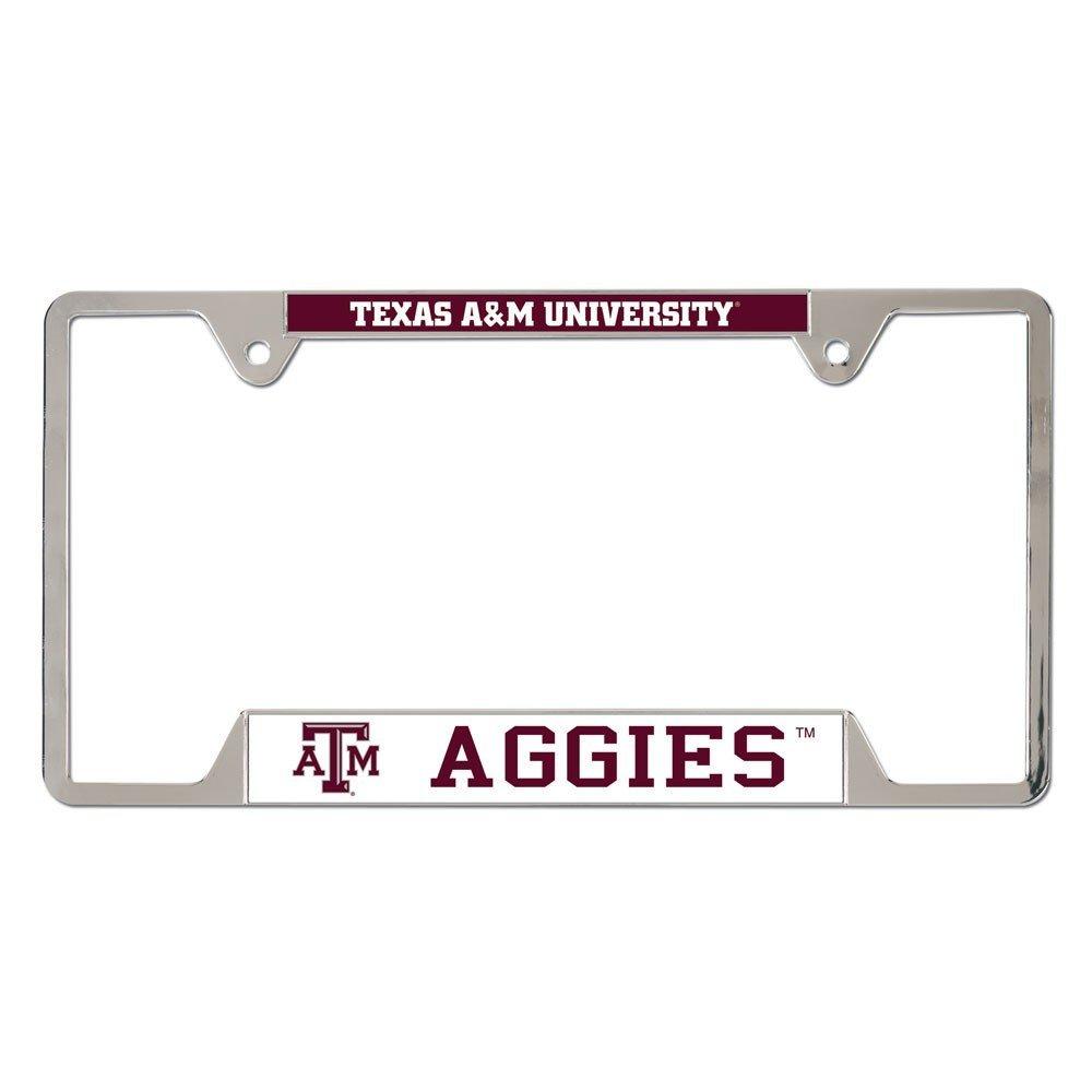NCAA Texas A&M University Aggies 6x12 inch Metal License Plate Frame ...