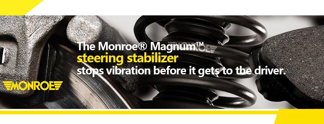 Front Magnum Steering Damper Shock Absorber SC2964 for Dodge Ram 1500 2500 4WD