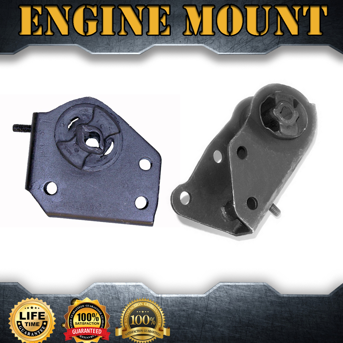 Front Left /& Right Motor Mount 2PCS Set Fit 1997-2003 Dodge Dakota 3.9L RWD