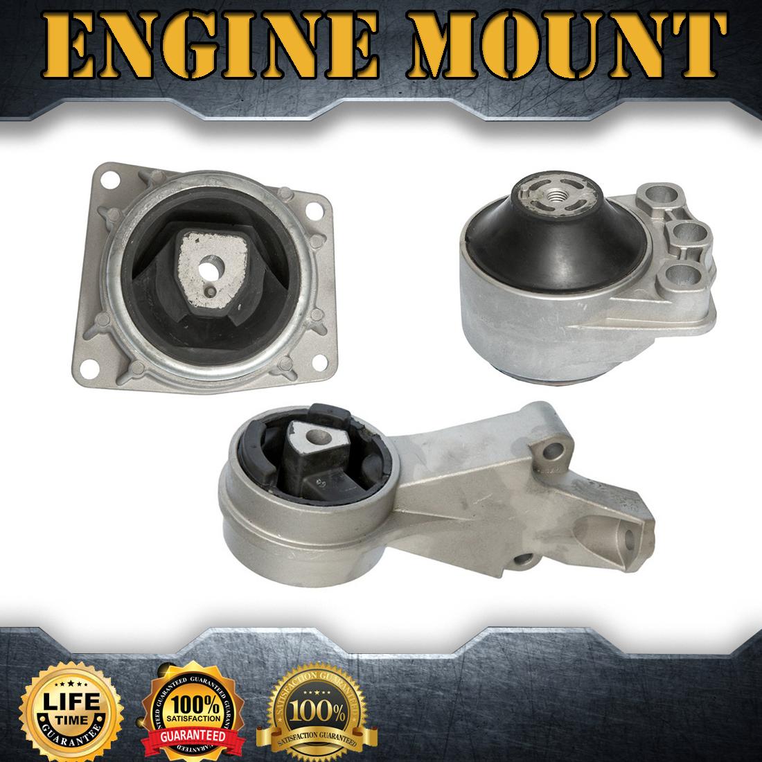 LW300 3.0L Engine Motor /& Trans Mount Set 4PCS for 2000-2005 Saturn L300 LW2