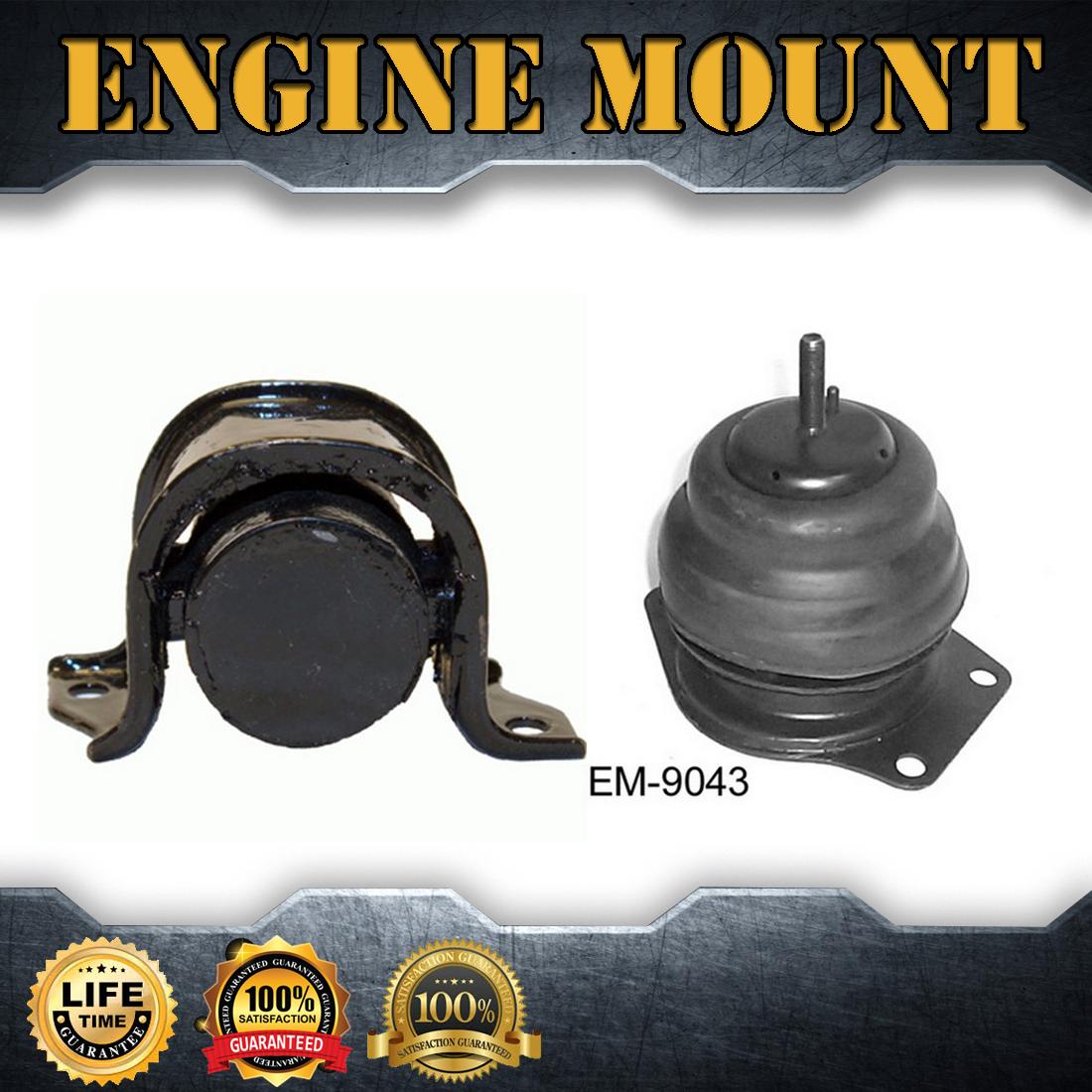2X Engine Motor& Trans. Mount Set Kit For 1989-1990 ACURA