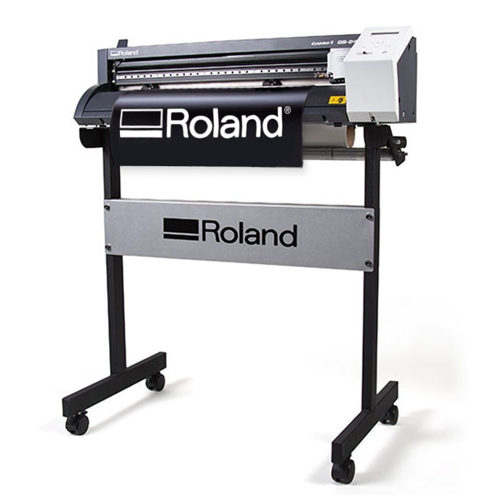 Roland Camm 1 Gs 24 Quot Vinyl Cutter Plotter For Decals Heat