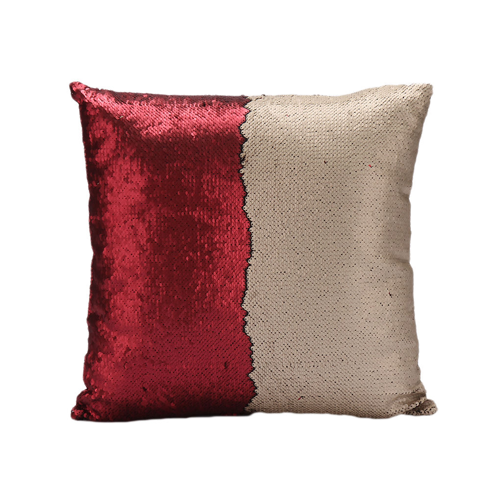 Hot Reversible Sequin Mermaid Sofa Cushion Cover Pillow