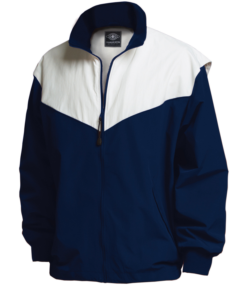 06441b931 Charles River Apparel 8971 Youth Championship Jacket L Navy white
