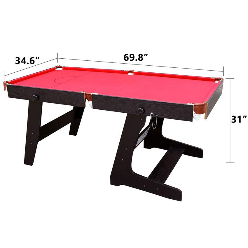 Pieghevole tavolo da biliardo professionale con palle e stecche da billiardo ebay - Tavolo da biliardo professionale ...