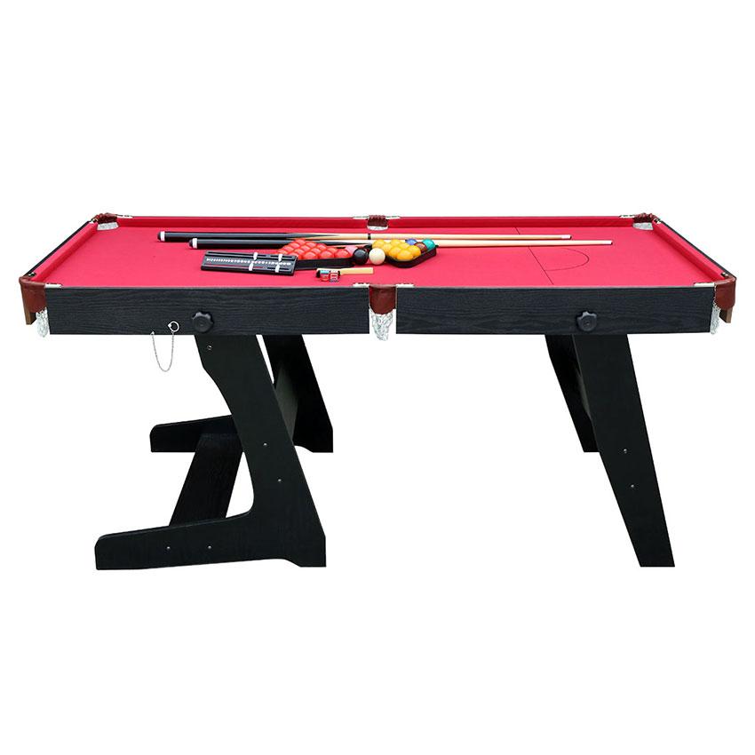 Pieghevole tavolo da biliardo professionale con palle e stecche da billiardo ebay - Tavolo da biliardo pieghevole ...
