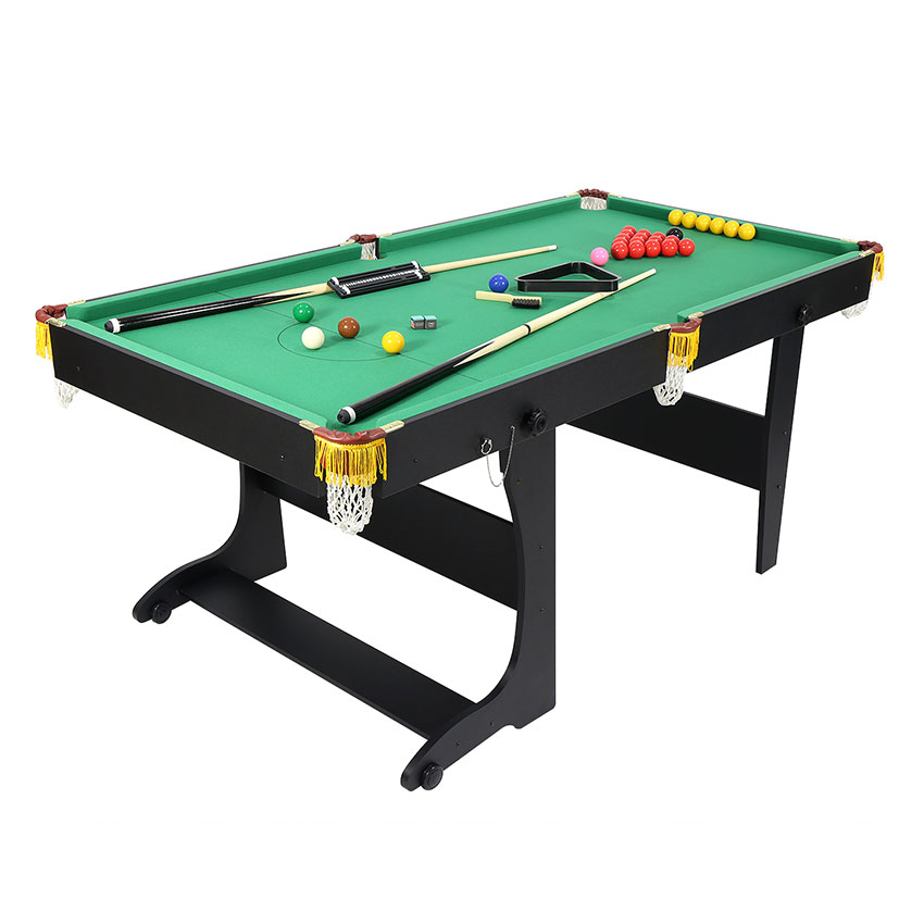 Pieghevole tavolo da biliardo con accessori palla e stecche da biliardo billiard ebay - Tavolo da biliardo pieghevole ...