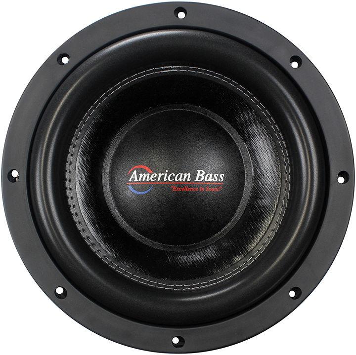 "NEW AMERICAN BASS XFL1022 10"" DVC 2000W CAR AUDIO"