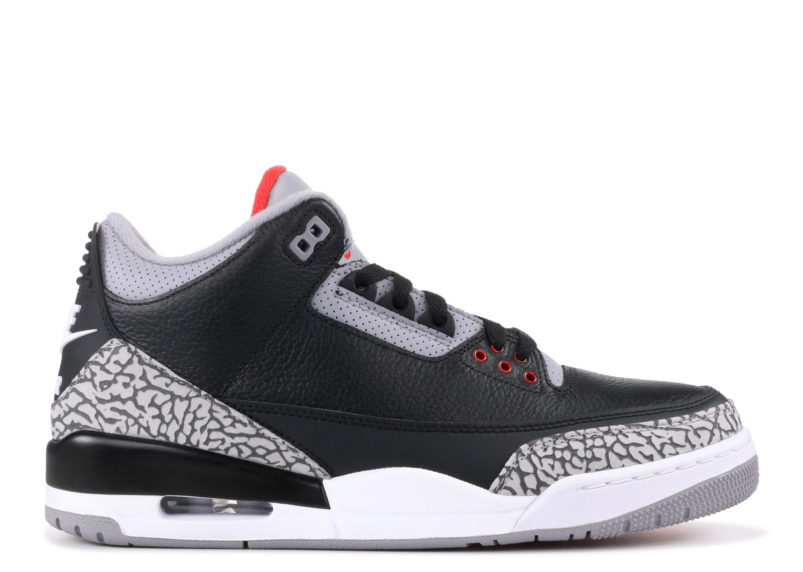 AIR JORDAN 3 OG RETRO OG 'BLACK CEMENT 2018' - 854262-001 - SIZE 11