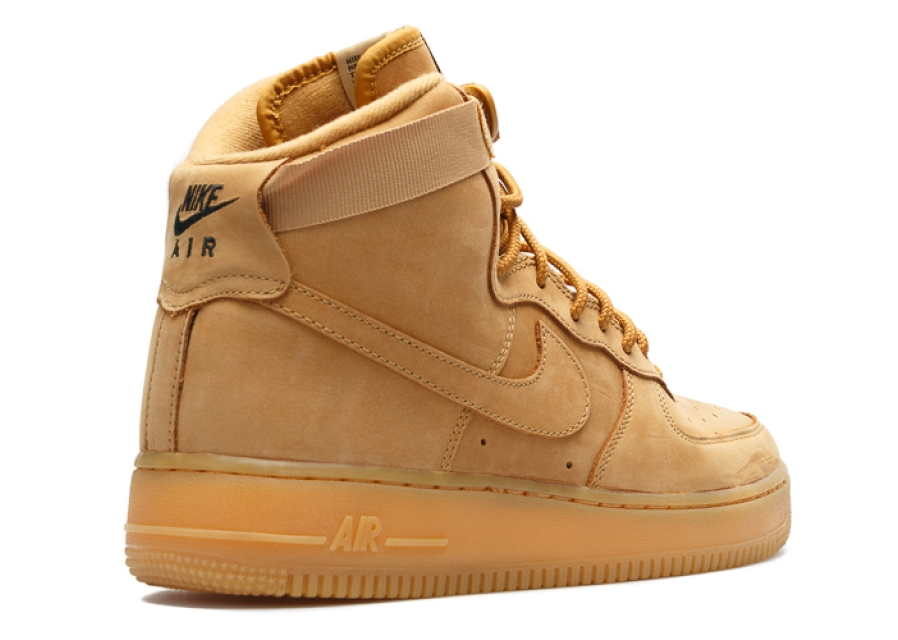 release date: 08c8a 7c19f Nike AIR FORCE 1 HIGH LV8 (GS) FLAX - 807617-200