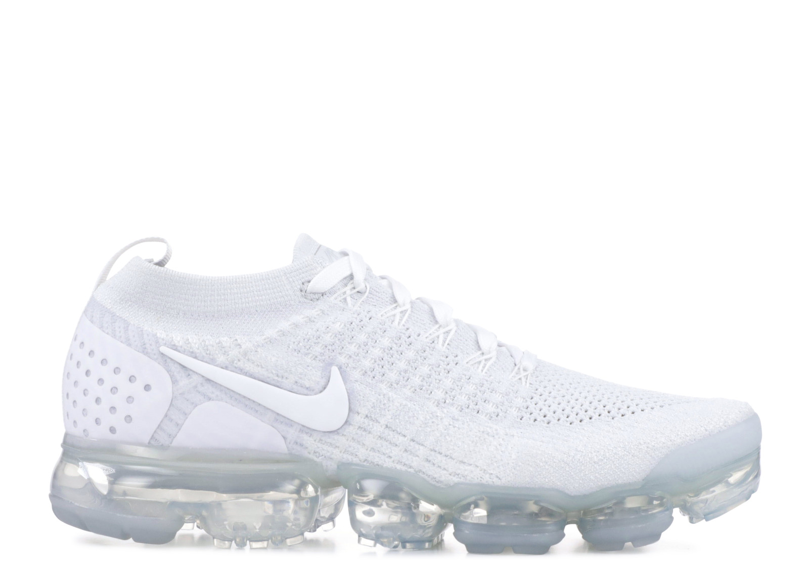 super popular 4889c 8544f Details about W Nike Air Vapormax Flyknit 2 'Pure Platinum' - 942843-100 -  Size W8.5