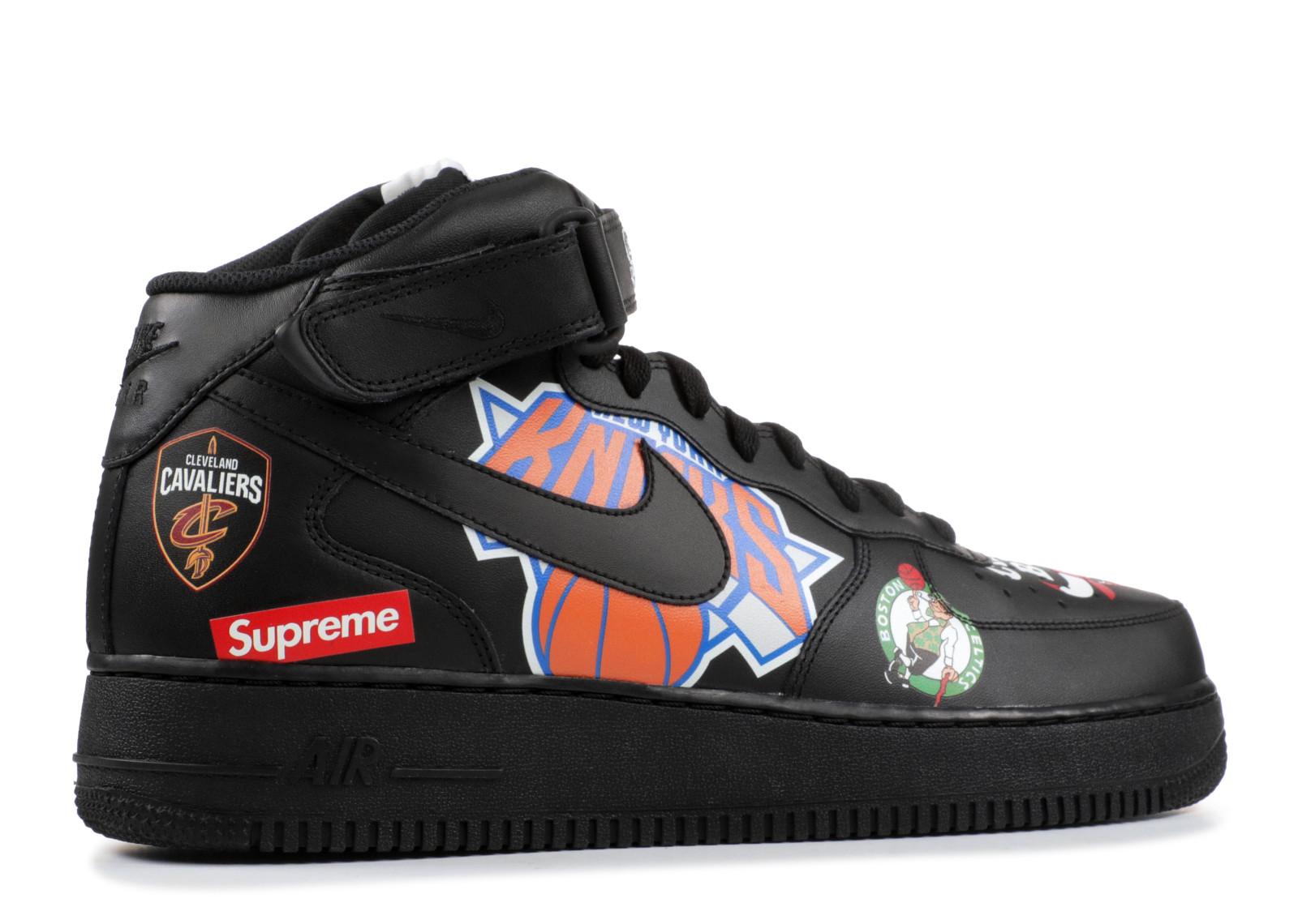 Details about Air Force 1 Mid '07 'Supreme' Aq8017 001 Size 10.5