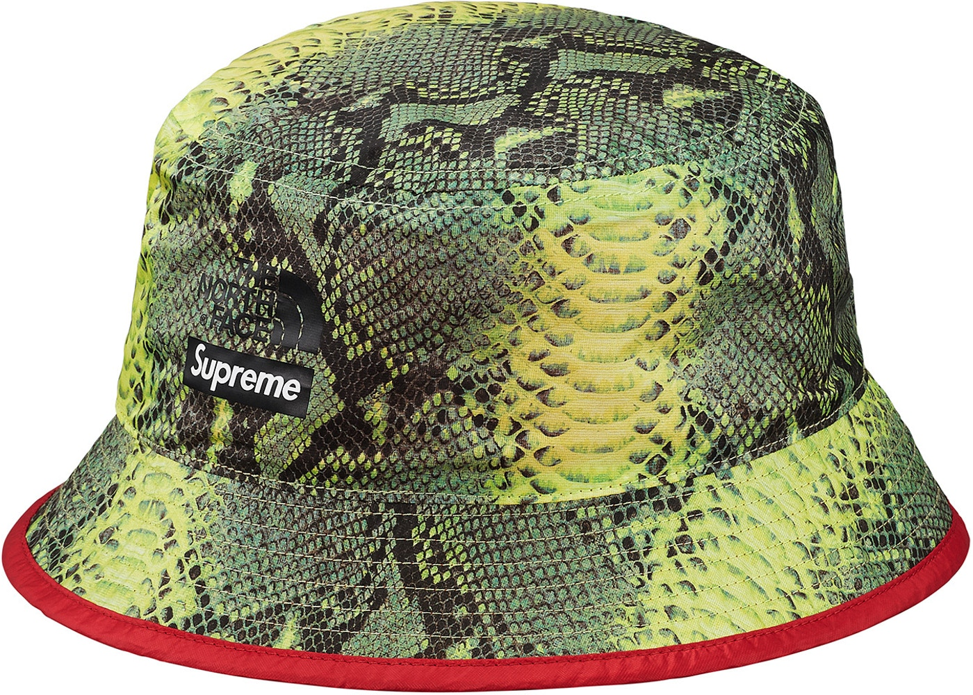 Supreme The North Face Snakeskin Packable Reversible Crusher - Green ... 7c26b84022d