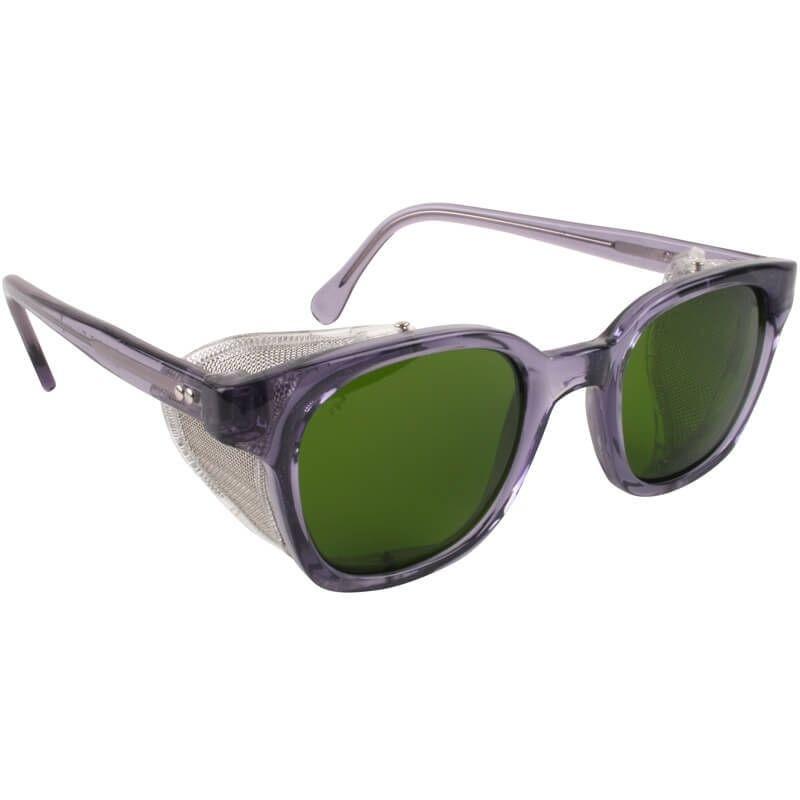 9863074b6ca5 Bouton Traditional Safety Glasses Smoke Frame Mesh Sideshields IR 3.0 Lens