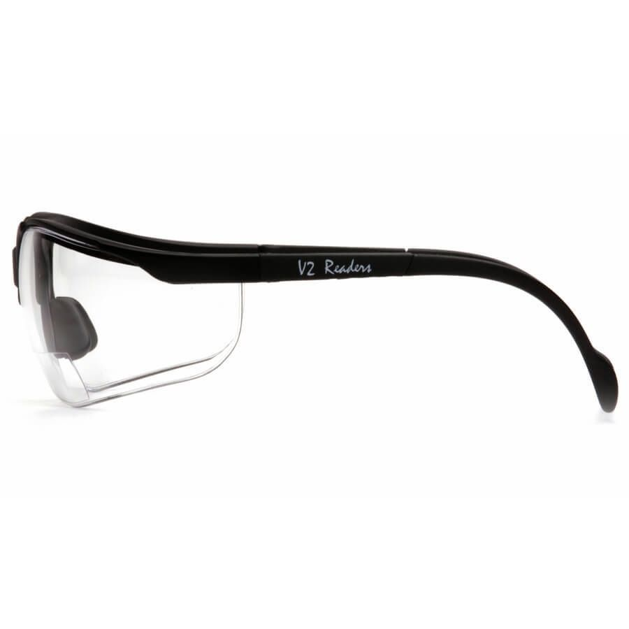 Pyramex-V2-Reader-Bifocal-Safety-Glasses-with-Black-Frame-and-Clear-Lens thumbnail 9