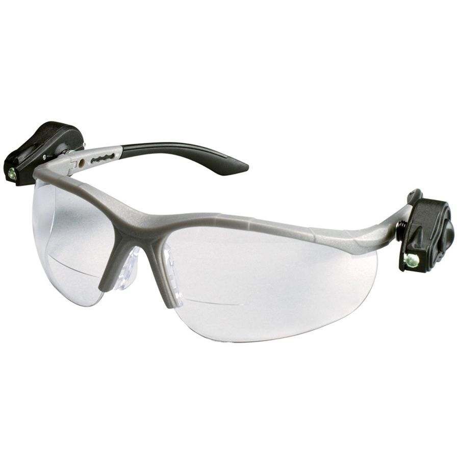 2a7f5a5cf8d 3M Light Vision2 LED Bifocal Safety Glasses With Clear Anti-Fog Lens ...