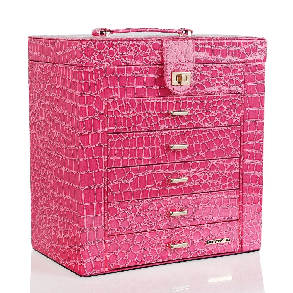 Extra Large Jewelry Box Cabinet Armoire Bracelet Rings ...
