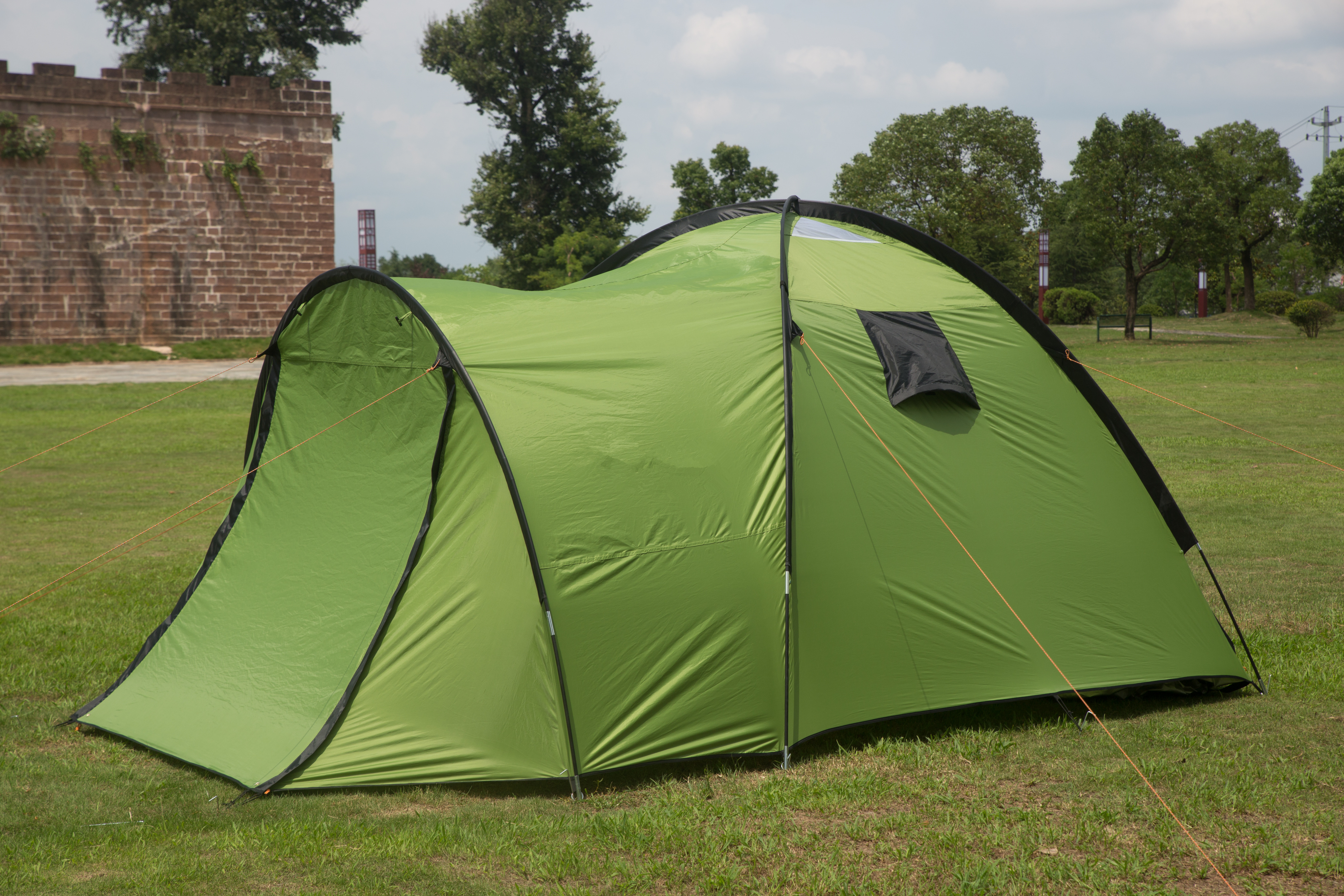4 Person Instant Tent : Person instant cabin camping tent hikingtraveling easy