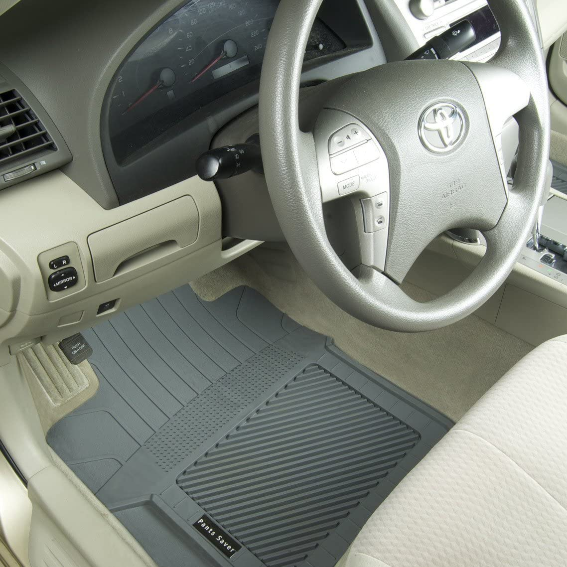 Custom Fit Car Mat 4PC Gray PantsSaver 2513132