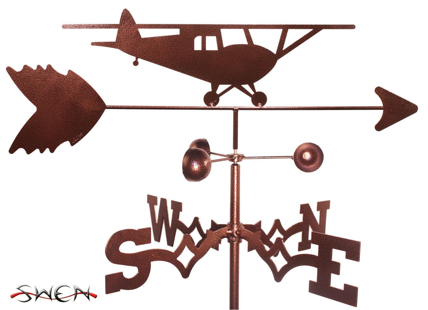 Swen Products Taildragger Airplane Plane Steel Weathervane Ebay