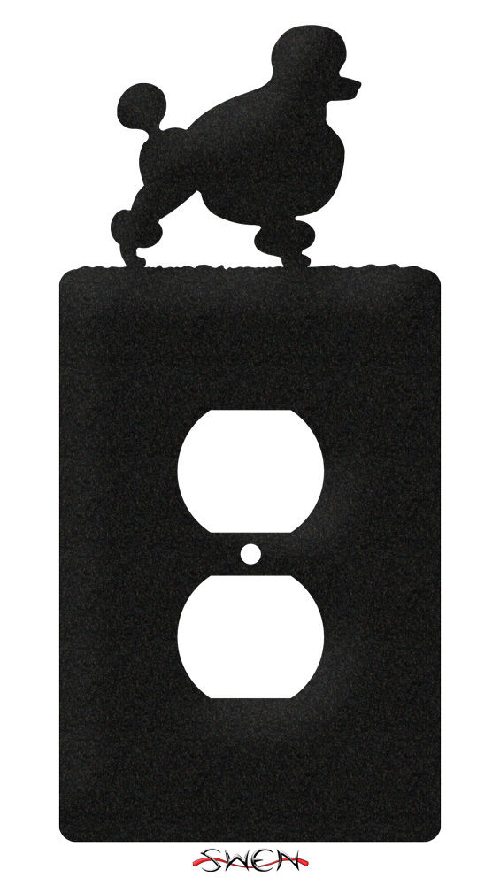 Swen Products Poodle Dog Light Switch Plate Covers Ebay