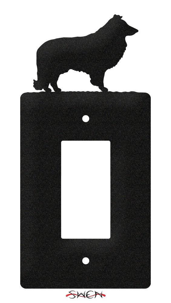 Swen Products Sheltie Dog Light Switch Plate Covers Ebay