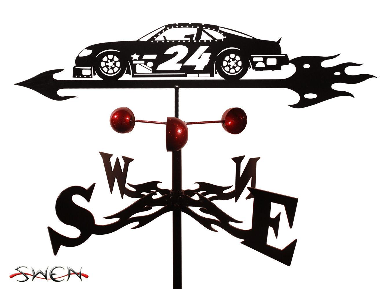SWEN Products Farrell Series NASCAR STOCK CAR #24 Steel Weathervane