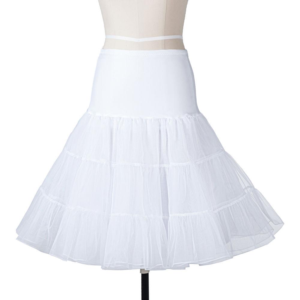 25-034-Retro-Underskirt-50s-Swing-Vintage-Petticoat-Rockabilly-Tutu-Fancy-Net-Skirt thumbnail 13