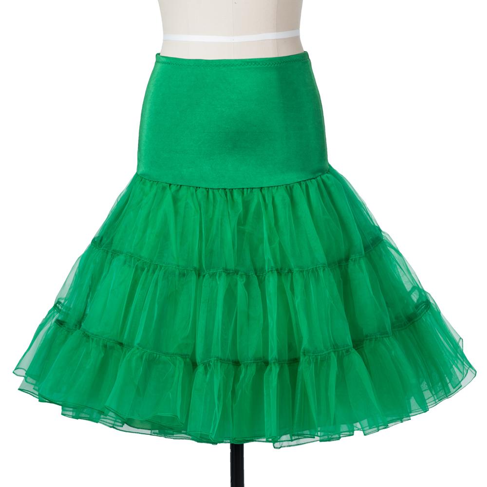 Indexbild 14 - Frauen der 50er Jahre Petticoat Röcke Tutu Reifrock Unterrock