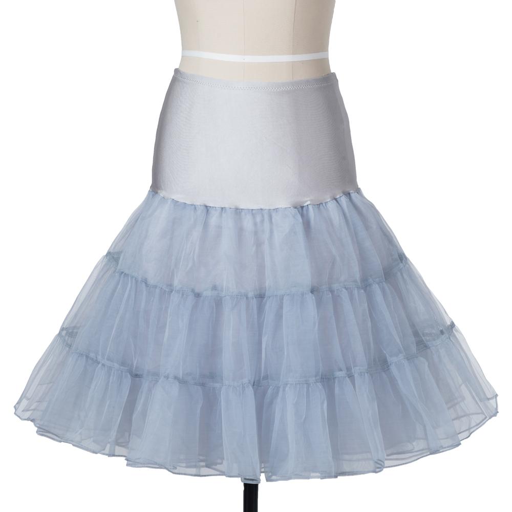Indexbild 11 - Frauen der 50er Jahre Petticoat Röcke Tutu Reifrock Unterrock