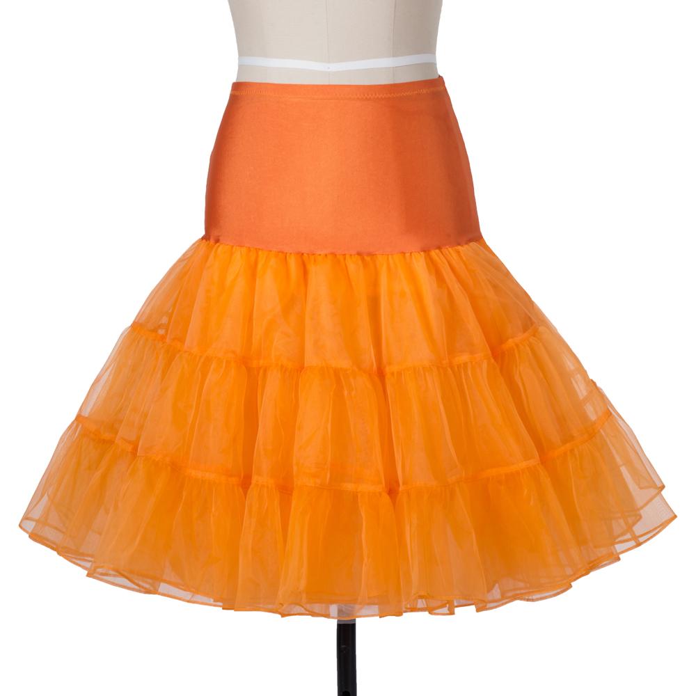 Indexbild 23 - Frauen der 50er Jahre Petticoat Röcke Tutu Reifrock Unterrock