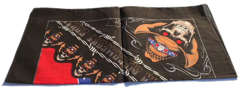 100-Cotton-Paisley-Bandana-Bandanna-Headwear-Scarf-Neck-Wrist-Wrap-Band-Headtie thumbnail 91